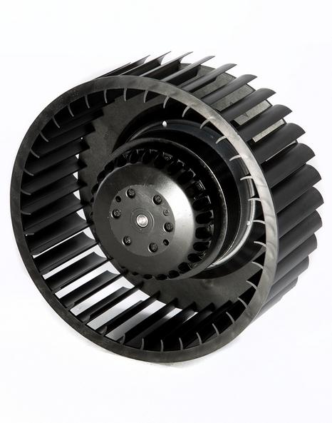 Single intlet centrifugal fan